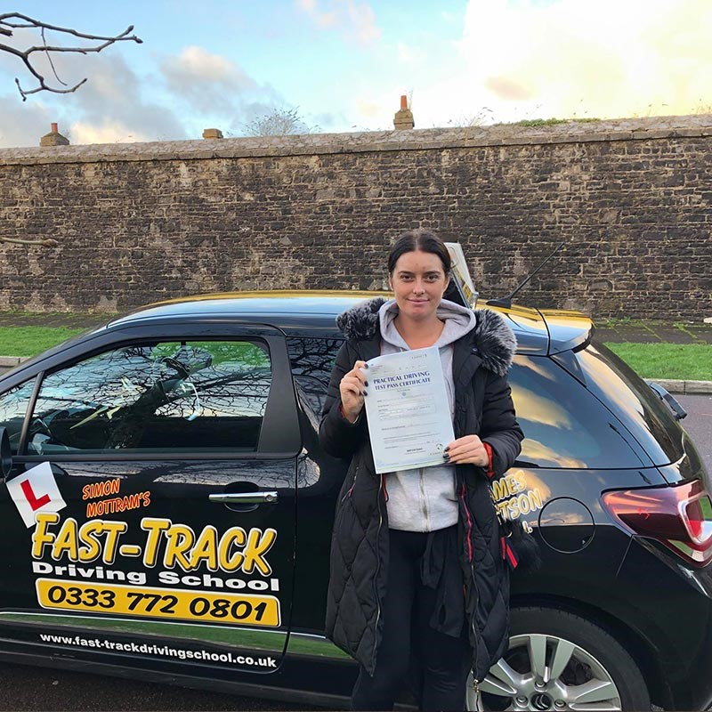 Crystal Roberts Review of Fast Track Driving School