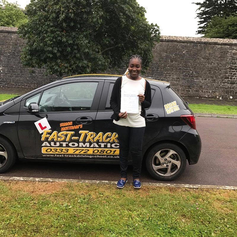 Jenifer Mensah Review of Fast Track Driving School