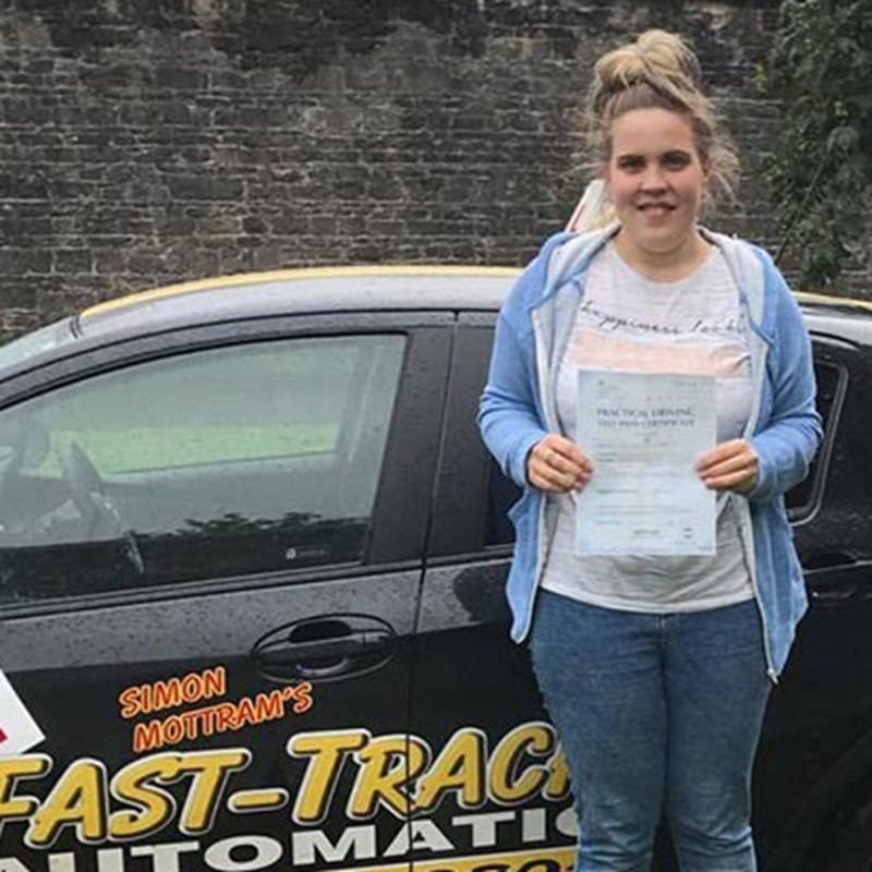 Sophie Winterford Review of Fast Track Driving School