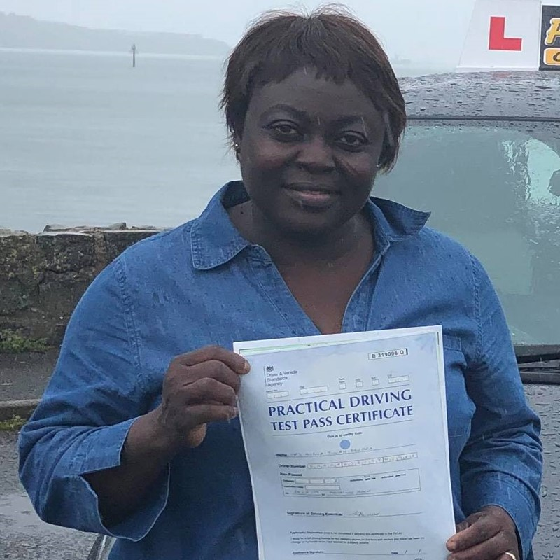 Murna Dogara from Johnston Review of Fast Track Driving School