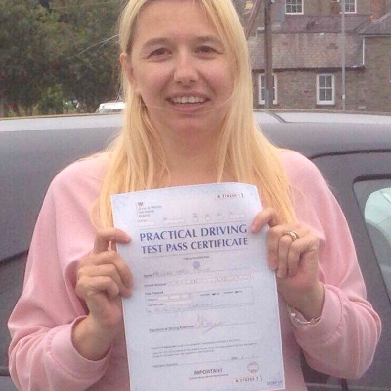 Clare Taylor from Letterston Review of Fast Track Driving School