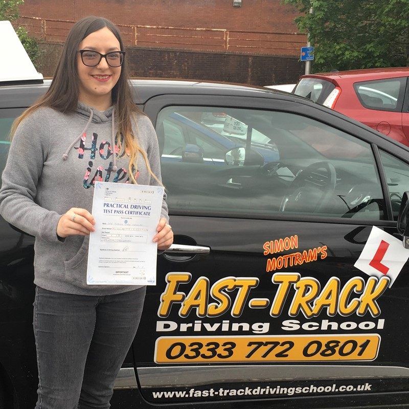 Jess Morgan Review of Fast Track Driving School