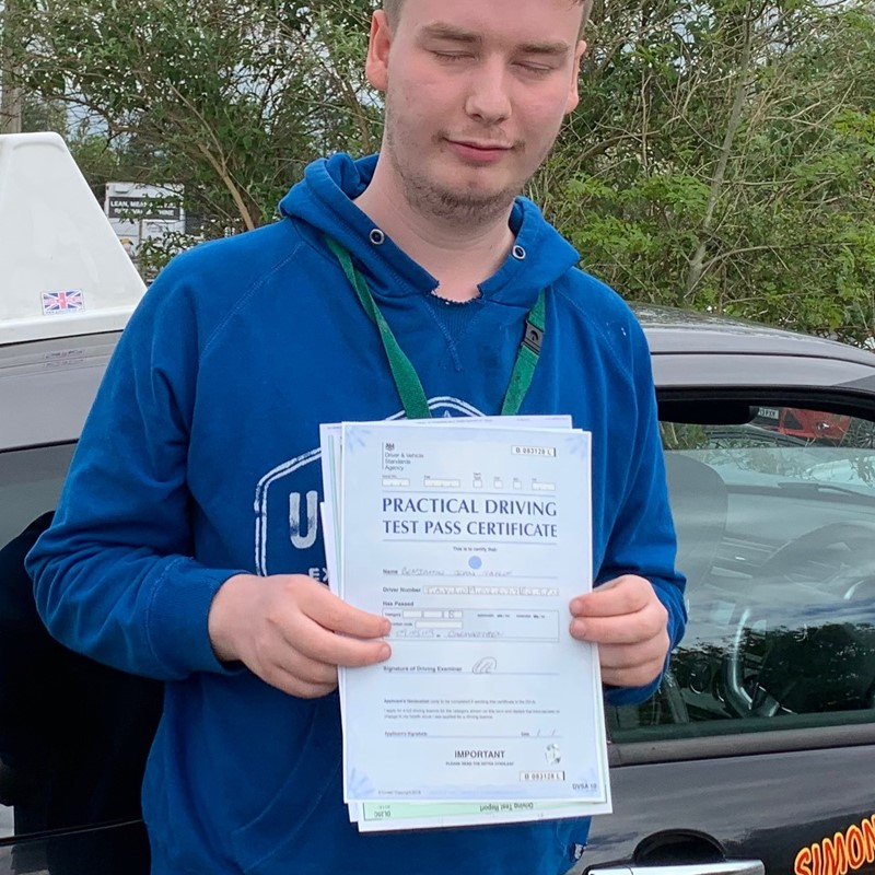 Ben Taylor from Carmarthen Review of Fast Track Driving School