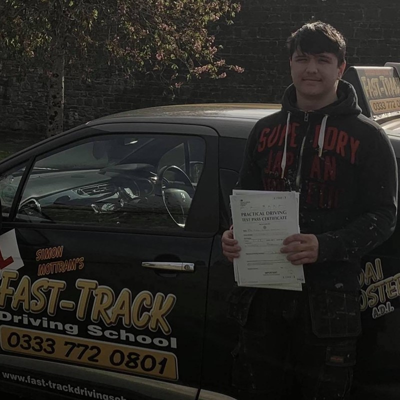 Luke Canton from Tenby Review of Fast Track Driving School