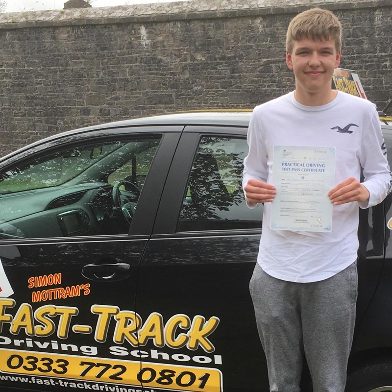 Harrison Cole Picton from Pembroke-dock Review of Fast Track Driving School