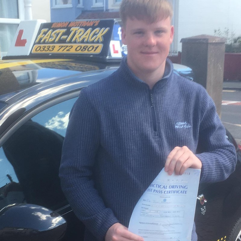 Jack Nicolas from Milford Haven Review of Fast Track Driving School