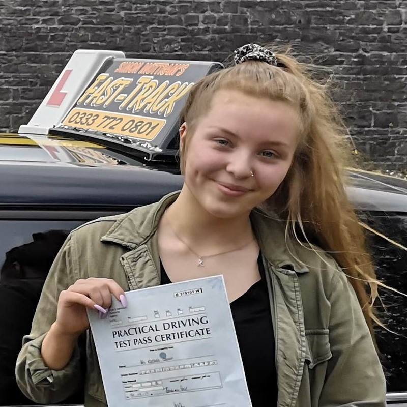Rachel Geddis from Milford Haven Review of Fast Track Driving School