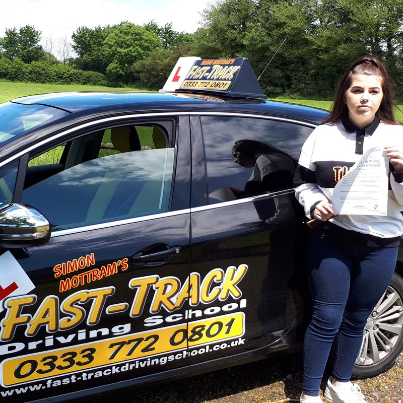 Lauren Rix from Carew Review of Fast Track Driving School