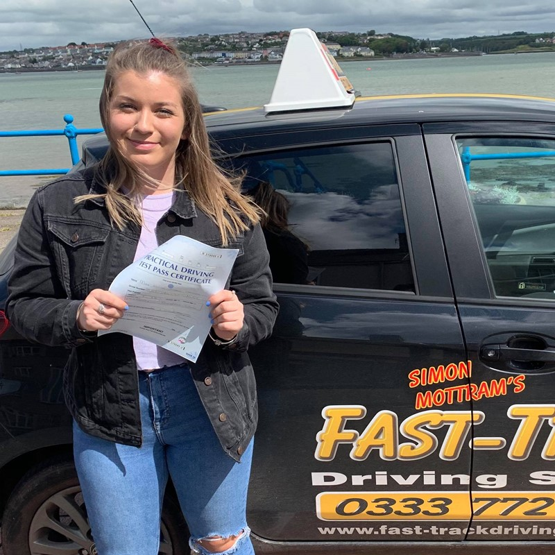 Ellie Davies from Liddeston Review of Fast Track Driving School