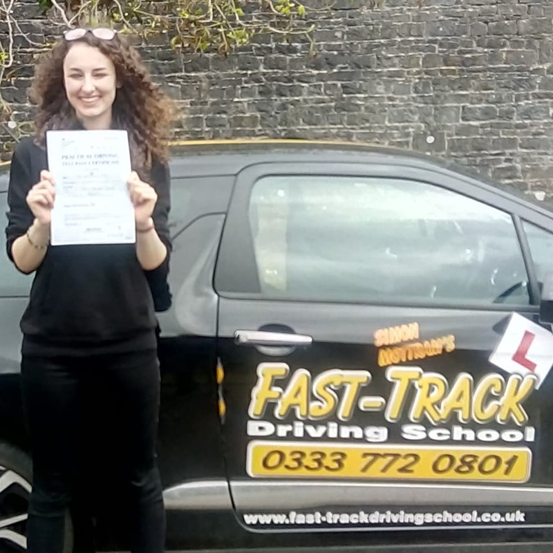 Neion Wimperis from St Davids Review of Fast Track Driving School