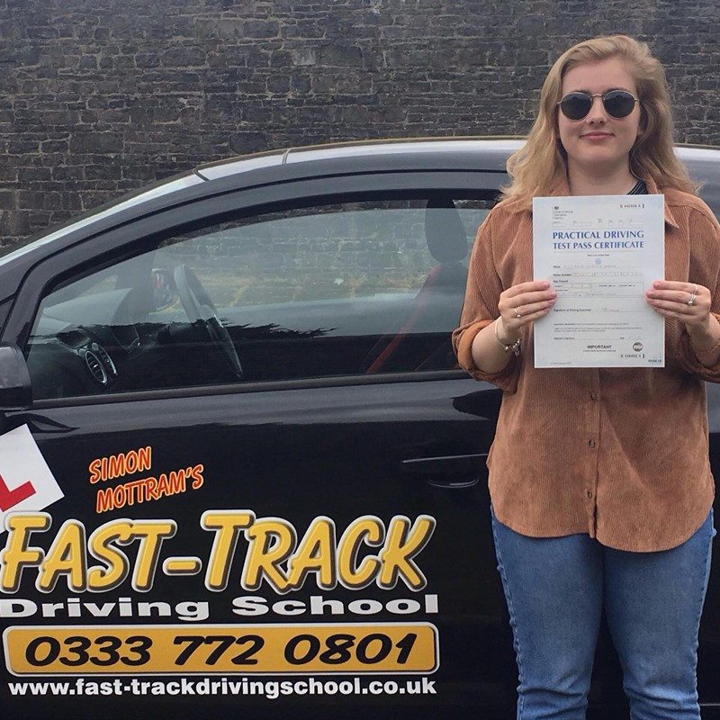 Rosie Davies from Neyland Review of Fast Track Driving School