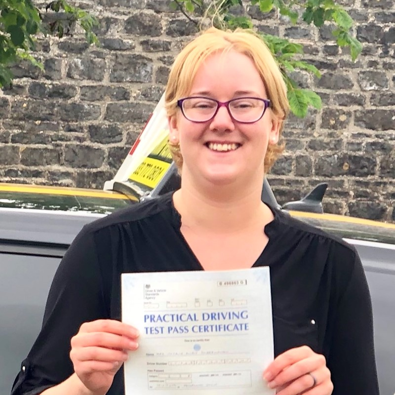 Natalie Scarborough from St Florence Review of Fast Track Driving School