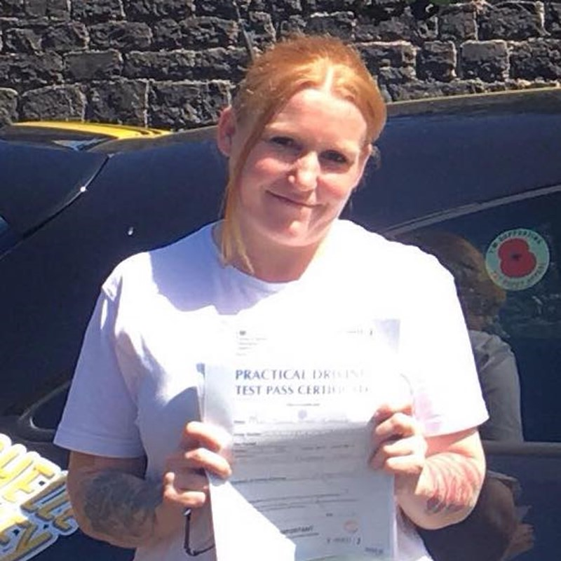 Juliea Cassley from Milford Haven Review of Fast Track Driving School