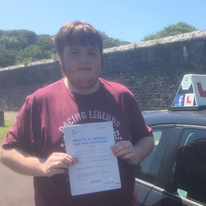 Joseph Buckley from Milford Haven Review of Fast Track Driving School