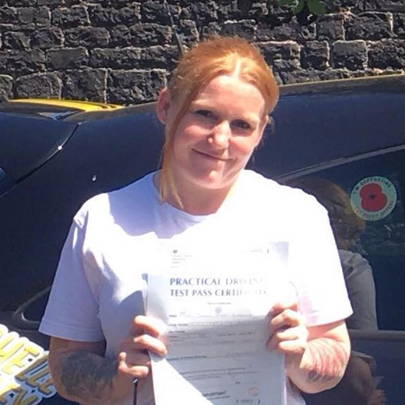 Juliea Cassley from Neyland Review of Fast Track Driving School