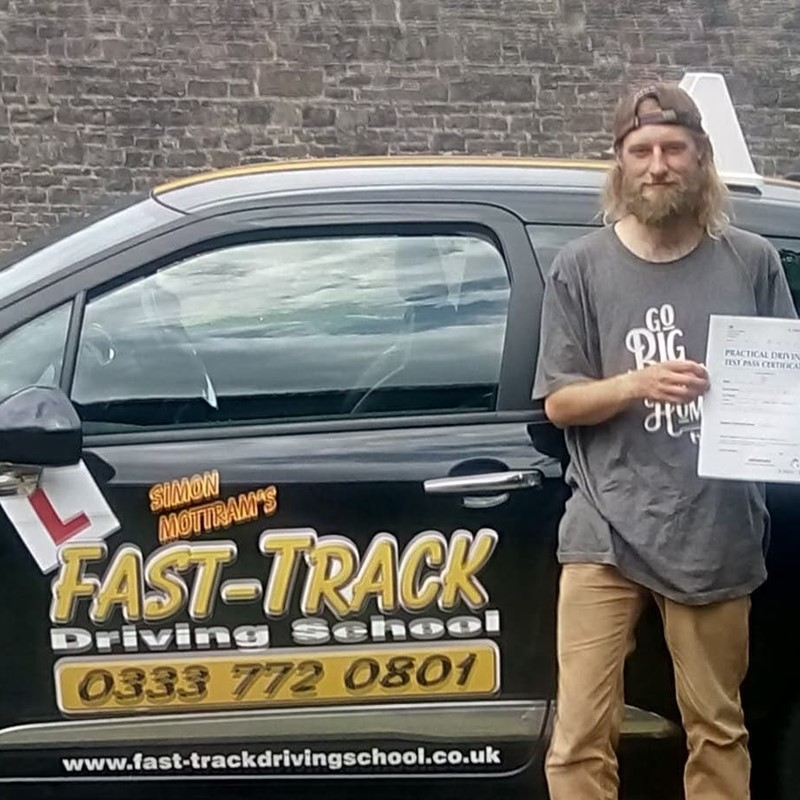 Jamie Ryan from Simpson Cross Review of Fast Track Driving School