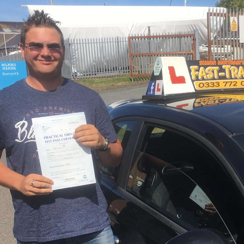 Bryn Smith from Milford Haven Review of Fast Track Driving School