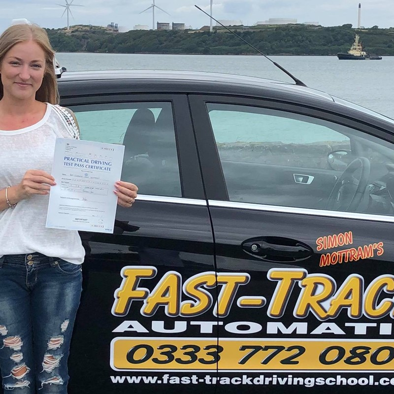 Kimberly Humphreys from Lydstep Review of Fast Track Driving School
