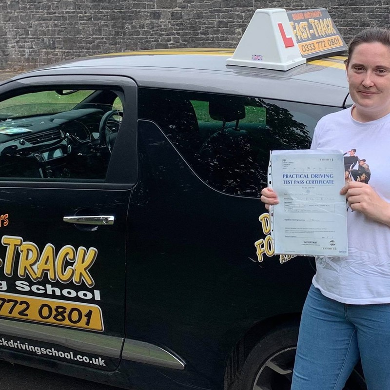 Victoria Matthews from Milford Haven Review of Fast Track Driving School