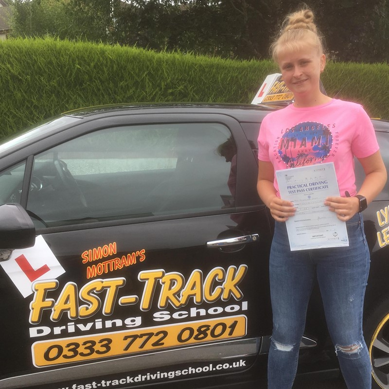 Catrin Jones from Carmarthen Review of Fast Track Driving School