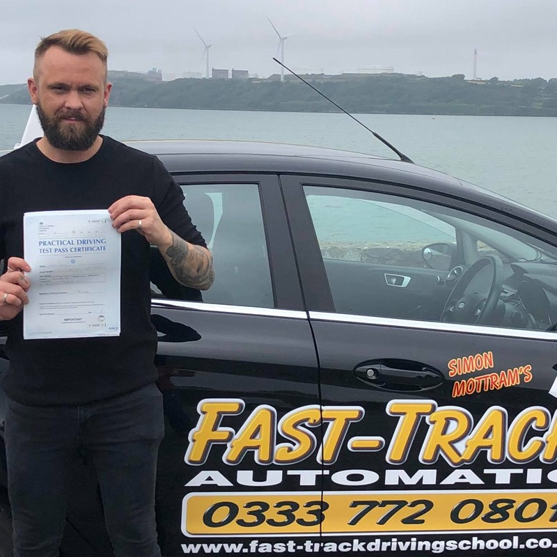 Leroy Cheal from Tenby Review of Fast Track Driving School
