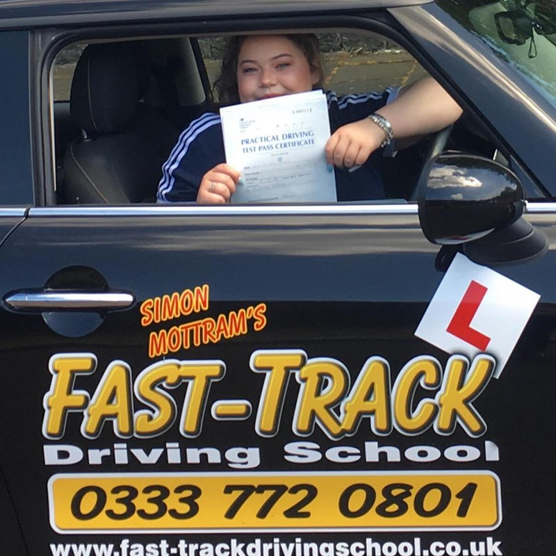 Lois Hawkes from Tenby Review of Fast Track Driving School