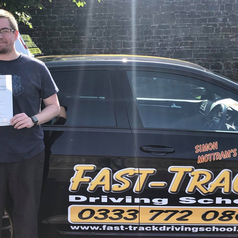 Matt Wood from Haverfordwest Review of Fast Track Driving School