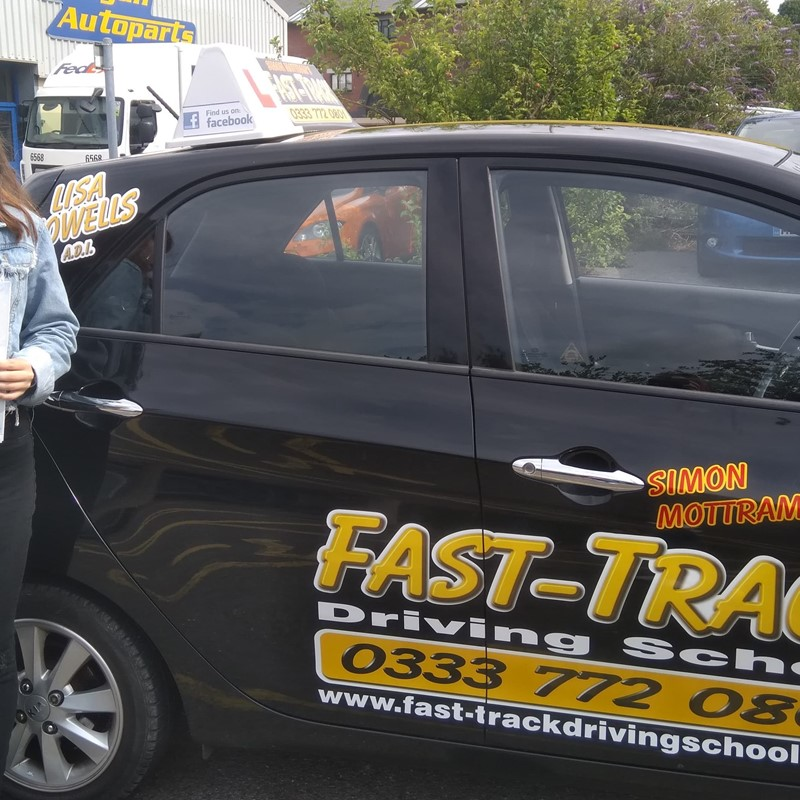 Carys Jones from Crosshands Review of Fast Track Driving School