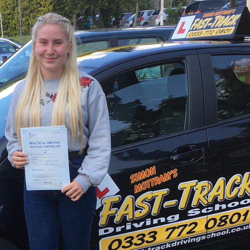 Megan Edwards from Whitland Review of Fast Track Driving School