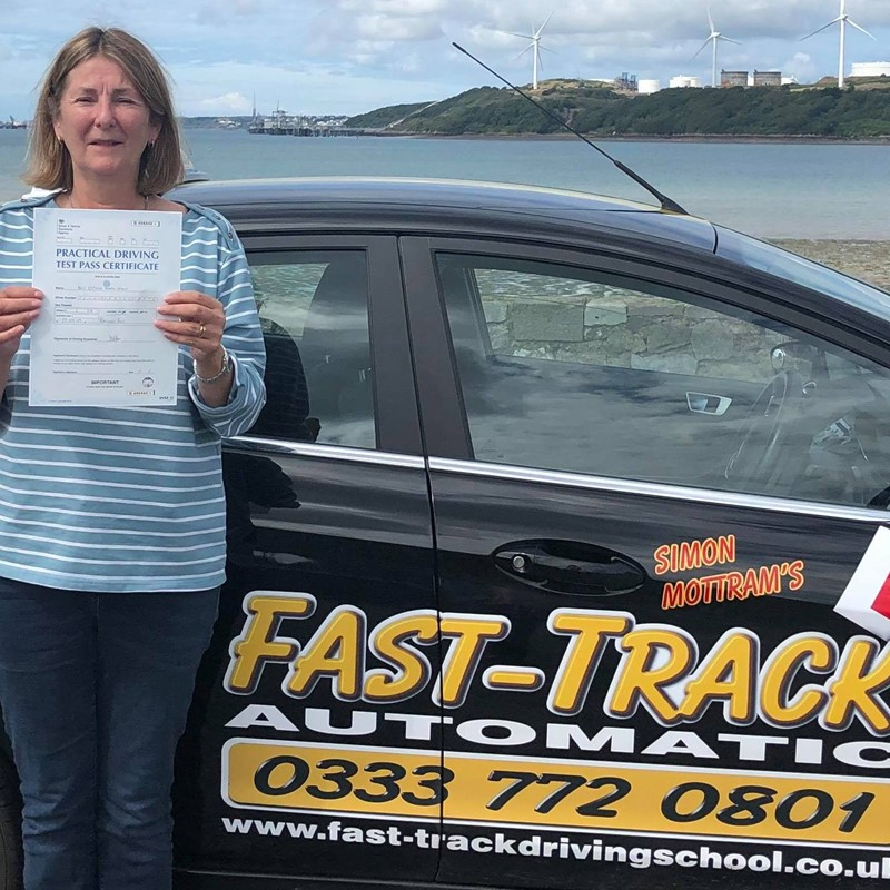 Victoria Tovey from Haverfordwest Review of Fast Track Driving School
