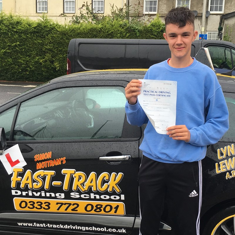 Steffan Thomas from Cwmffrwd Review of Fast Track Driving School