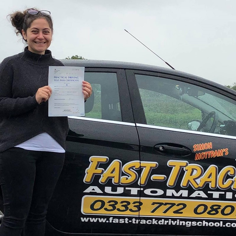 Dr Christine Manuelian from Carmarthen Review of Fast Track Driving School