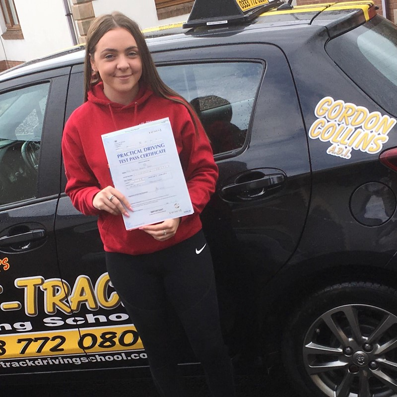 Rachel John from St Clears Review of Fast Track Driving School