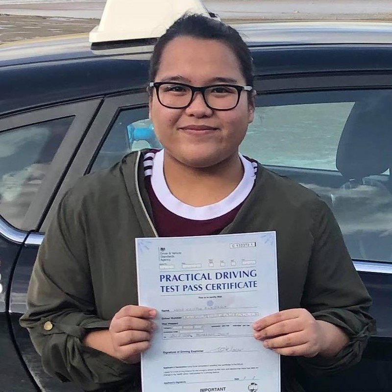 Kristin Alejaga Review of Fast Track Driving School