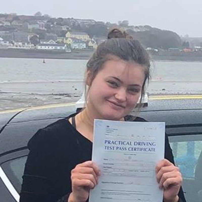 Chloe Roberson Review of Fast Track Driving School