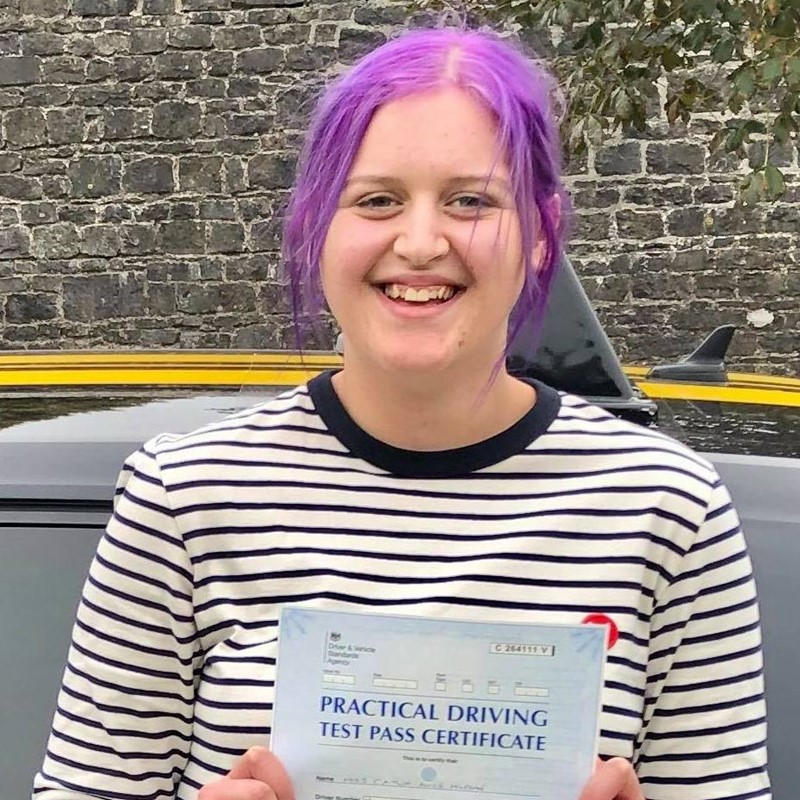 Caitlin Morgan Review of Fast Track Driving School
