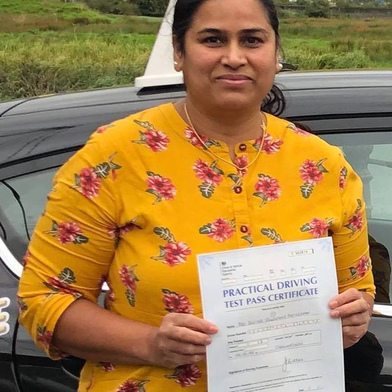Kavitha Natarajan Review of Fast Track Driving School