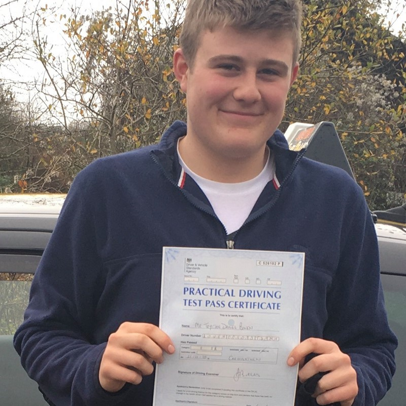 Trystan Bowen Review of Fast Track Driving School