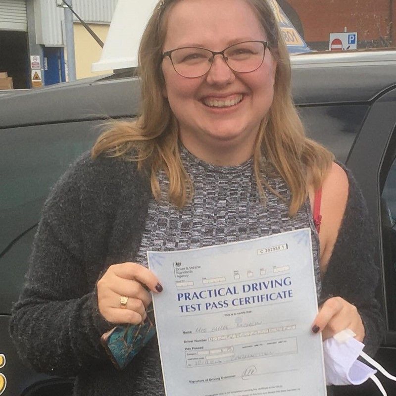 Emma Nicklin Review of Fast Track Driving School