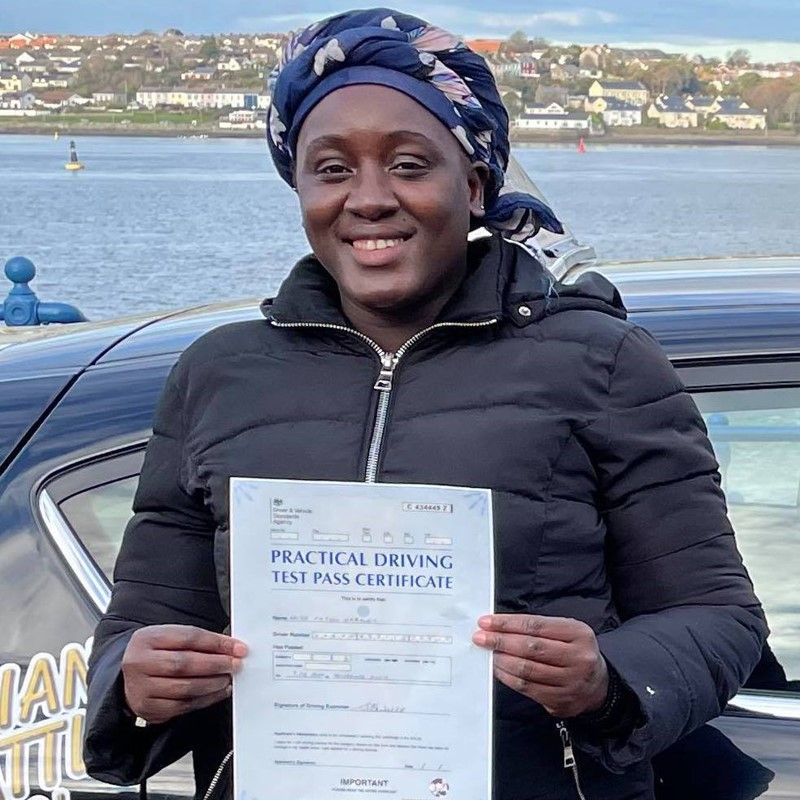 Fatou Nabaneh Review of Fast Track Driving School